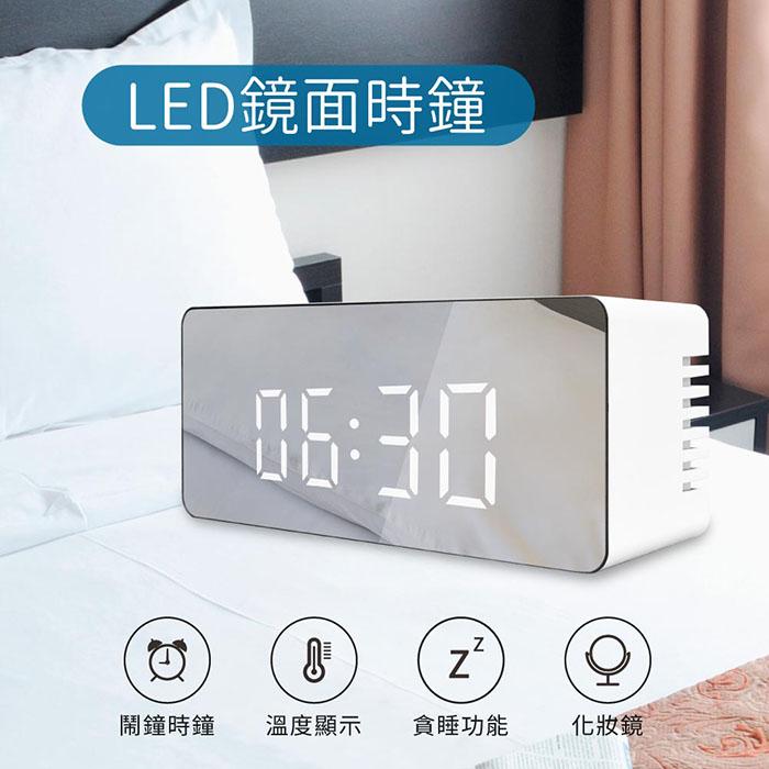 LED鏡面時鐘