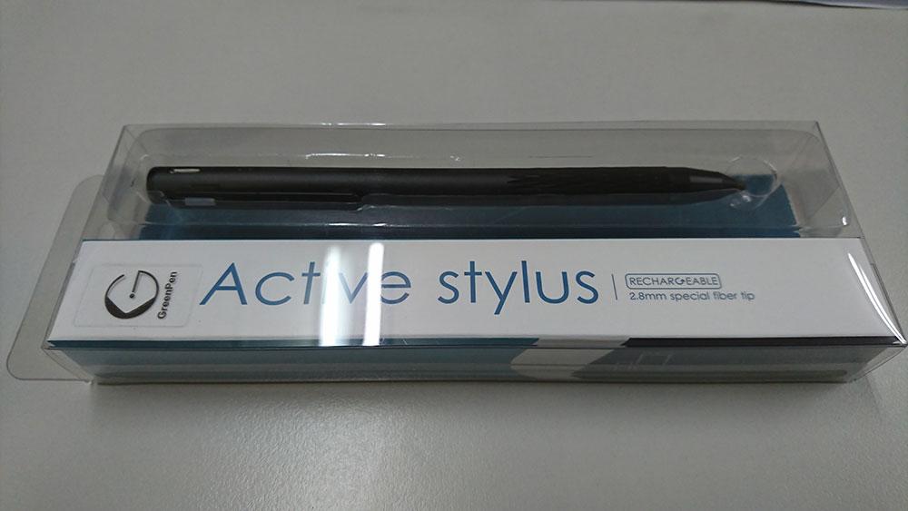 green pen a1 主動式觸控筆 黑色