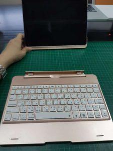 f8s 可拆式 鍵盤保護套 拆卸