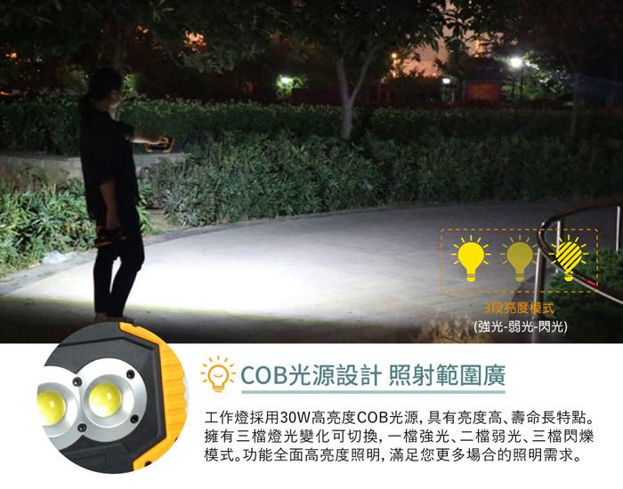 手電筒COB高亮度光源