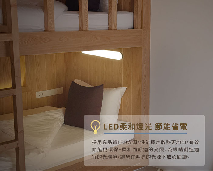 磁吸宿舍燈LED光源