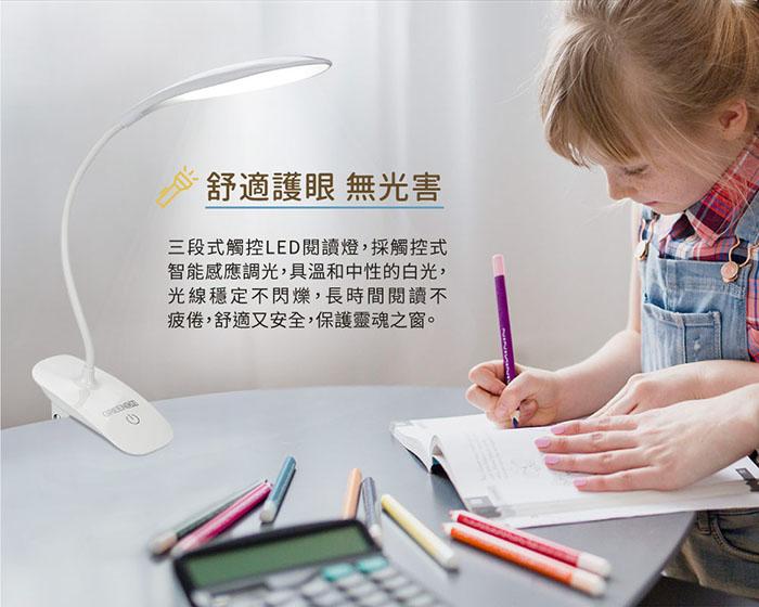 LED閱讀燈無光害