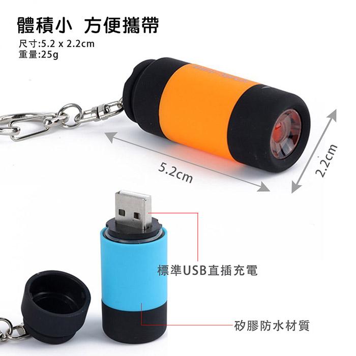 鑰匙圈手電筒