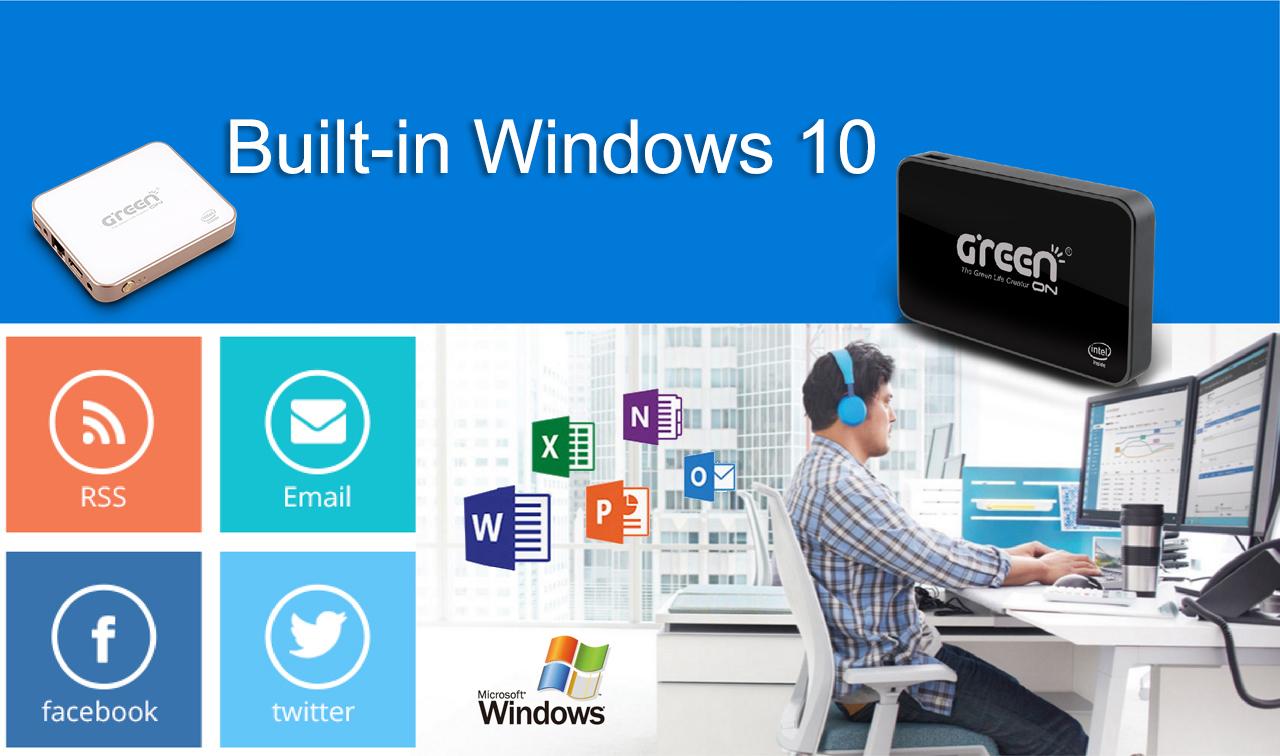 內建Windows10-熟悉而更加出色的作業系統